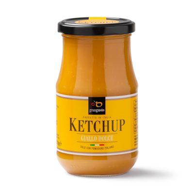 da affetto per te trovi il ketchup italiano giallo gran gusto buonissimo provalo