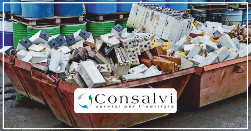 consalvi offerta riciclaggio materiali - occasione ritiro materiali perugia