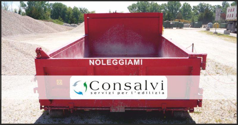 consalvi offerta noleggio containers - occasione containers per raccolta materiali edili perugia