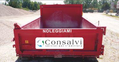offerta noleggio containers per macerie occasione containers per rifiuti edili perugia