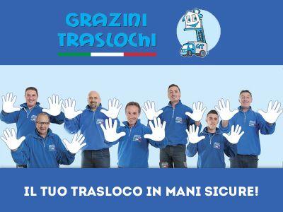offerta personale italiano promozione traslochi e trasporti agenzia grazini traslochi