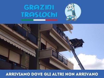 offerta piattaforme aeree traslochi promozione piattaforme aeree trasporti roma