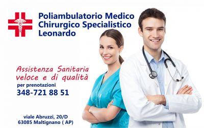 offerta servizi medici promozione poliambulatorio poliambulatorio medico leonardo