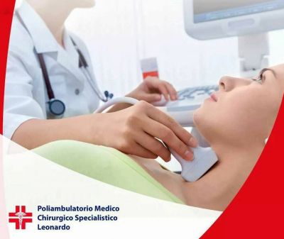 promozione ecografia tiroide offerta visita endocrinologica poliambulatorio leonardo