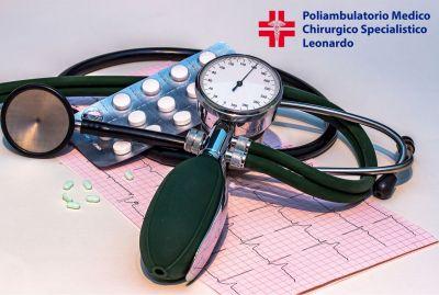 promozione controllo ipertensione offerta noleggio misuratore pressione poliambulaorio leon