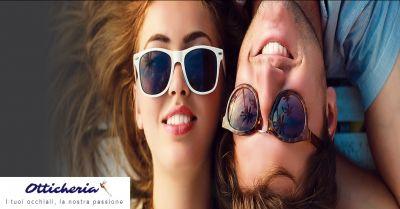 otticheria offerta occhiali da sole graduati occasione personalizzazione montatura occhiali