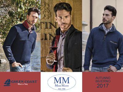 offerta abbigliamento uomo green coast promozione collezione green coast mode manni