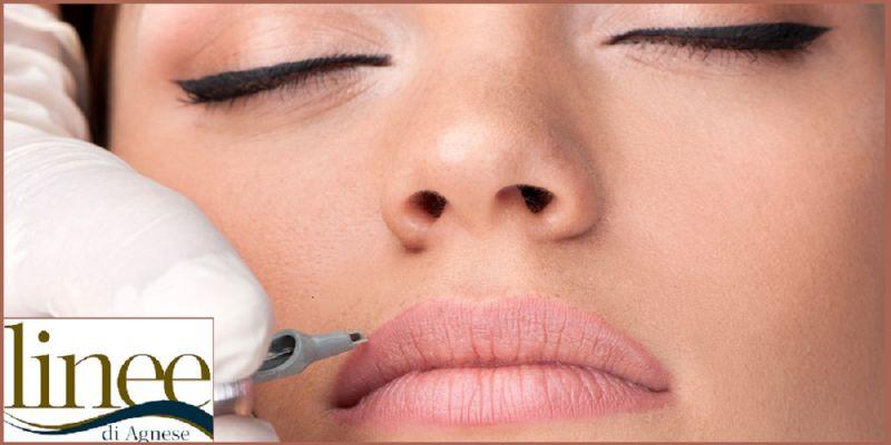 LINEE DI AGNESE offerta Make up permanente labbra - Promozione trattamento make up permanente