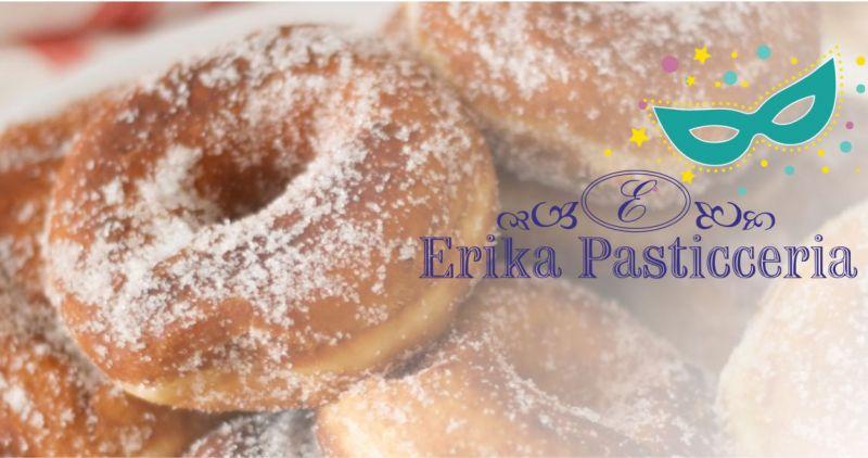 ERIKA PASTICCERIA SANT ANTIOCO - offerta dolci carnevale zeppole fatti fritti