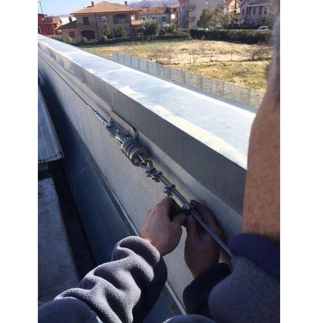 Installazione linee vita Umbertide - Reti anticaduta Umbertide - Inter Alia