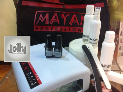offerta kit manicure semi permanente milano promozione mayan nails milano jolly beauty expert