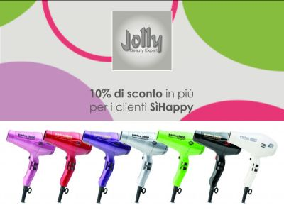 offerta asciugacapelli professionale promozione phon parlux 3000 milano jolly beauty expert