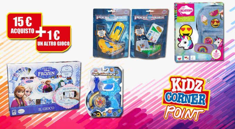 Offerta Kidz Corner Point corigliano calabro - promozioni giochi e giocattoli Kidz Corner cosenza