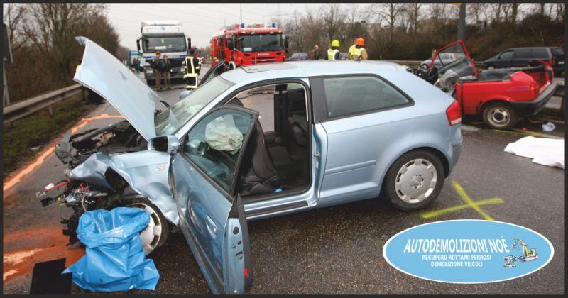 agricola noe offerta rottamazione auto incidentata - occasione demolizione veicoli perugia
