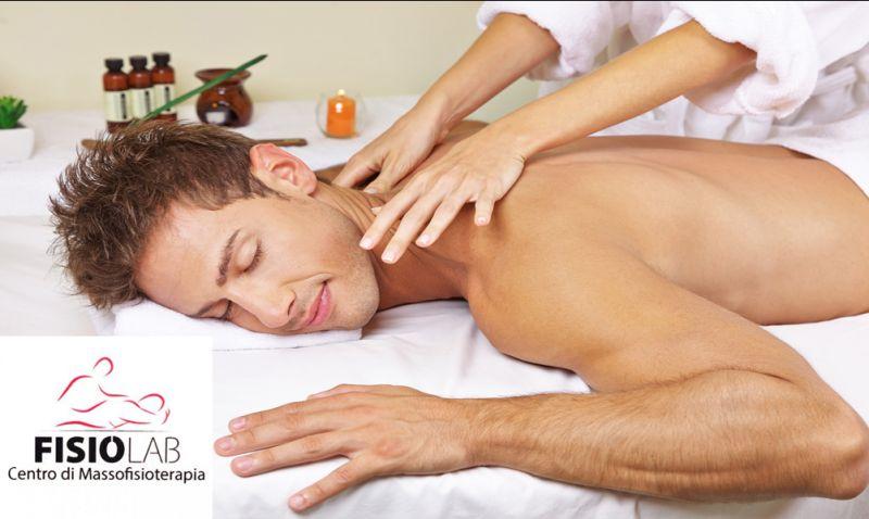 Offerta centro massaggi correttivi fisiolab cosenza - promozione massaggio linfodrenante sport