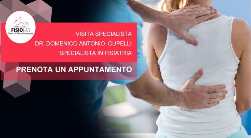 Occasione prenotazione visita specialistica fisiatrica Cosenza - Promozione specialista in fisiatria Cosenza
