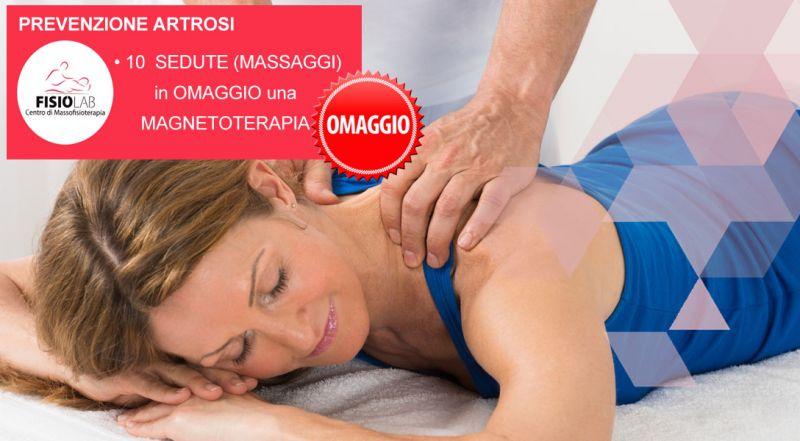 Offerta prevenzione artrosi fisioterapia Cosenza - Promozione massaggi per artrosi e magnetoterapia Cosenza