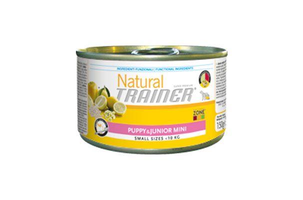 Natural trainer puppy umido mini pollo