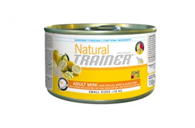 natural trainer adult mini pollo