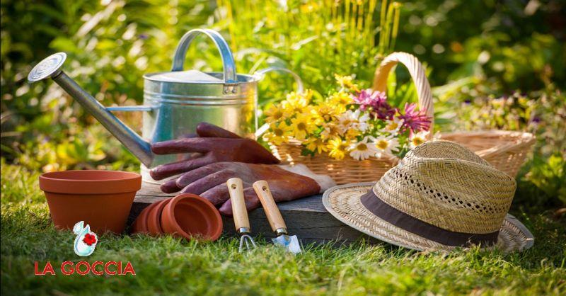 LA GOCCIA offerta servizi di giardinaggio a Piacenza - occasione servizio di potatura piante