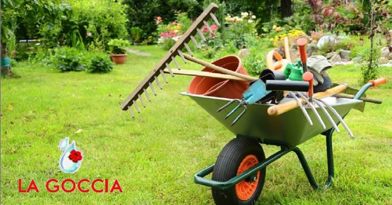 LA GOCCIA offerta manutenzione giardini Piacenza - occasione realizzazione aree verdi Piacenza
