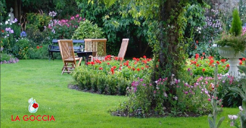 LA GOCCIA offerta servizio giardinaggio per enti pubblici - occasione realizzazione giardini