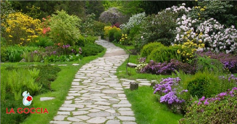 LA GOCCIA offerta progettazione giardini Piacenza - occasione servizio di floricoltura Piacenza