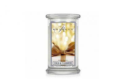 offerta candela gold cashmere in giara grande