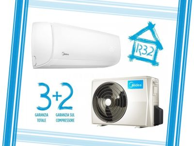 offerta nuovi condizionatori midea promozione gas ecologico r 32 garanzia 3 2