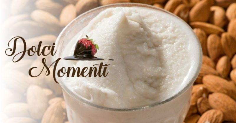 Pasticceria Dolci Momenti - Dove mangiare granita alla mandorla specialità pasticceria siciliana