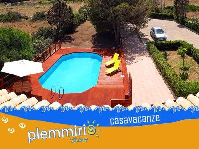 offerta casa vacanze con piscina promozione vacanze sicilia siracusa plemmirio view