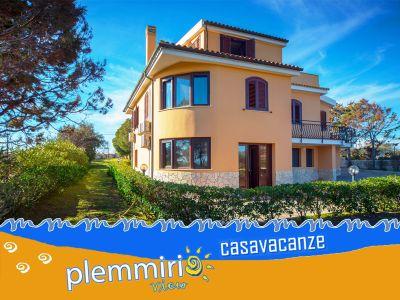 offerta affitto villa plemmirio promozione casa vacanze siracusa plemmirio view