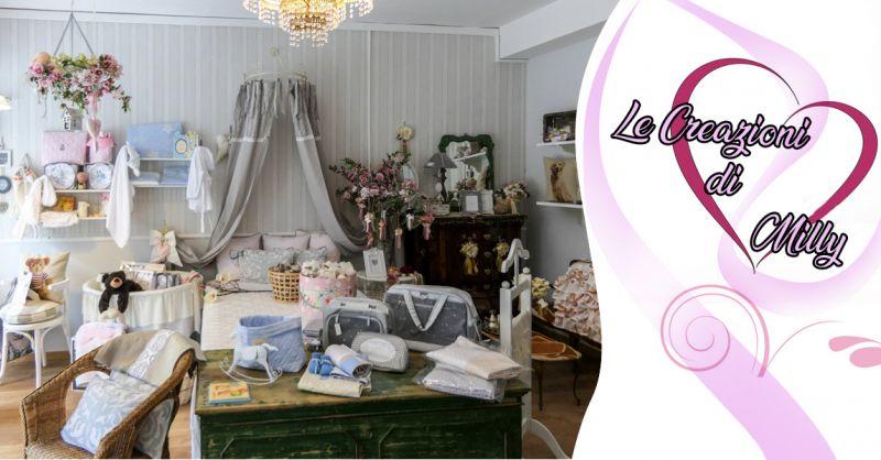 LE CREAZIONI DI MILLY Offerta vendita tendaggi su misura Satriano di Lucania provincia Potenza