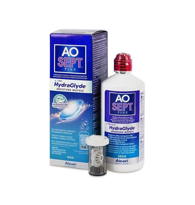 AoSept Plus Soluzione disinfettante per lenti a contatto