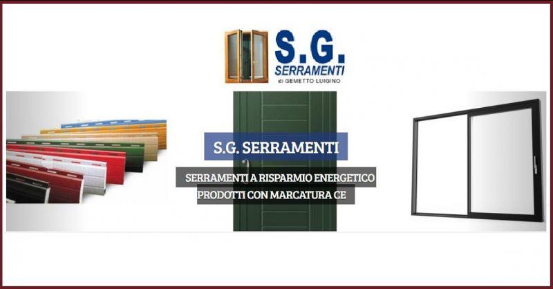 S.G. Serramenti - Occasione progettazione realizzazione serramenti su misura Vicenza