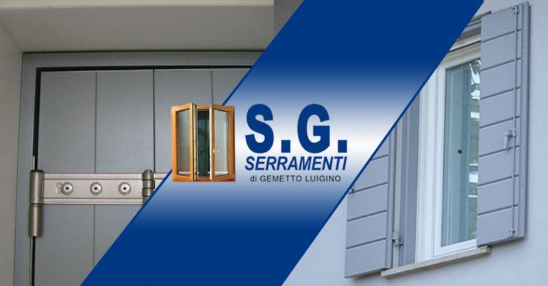 S.G. Serramenti - Occasione soluzioni realizzazione di Portoncini ingresso e porte blindate