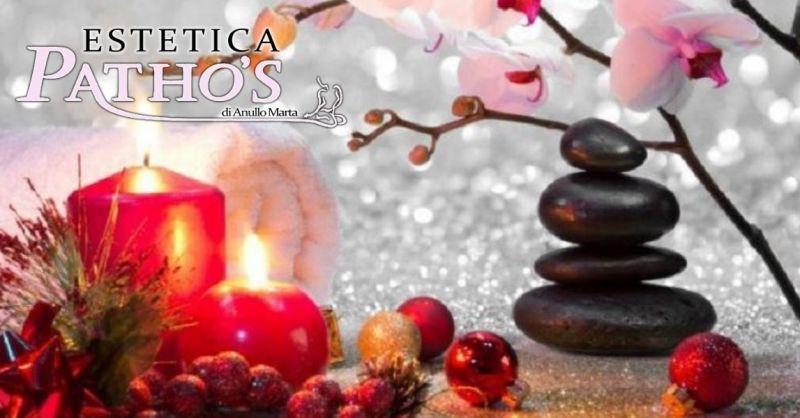 Estetica Patho's offerta vendita pacchetti benessere natale - occasione trattamenti bellezza