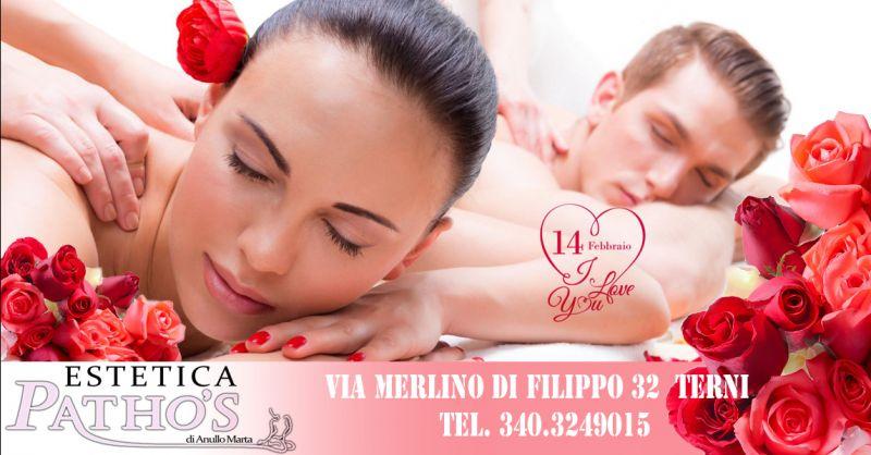 offerta promozione San Valentino a Terni - occasione regalo San Valentino centro estetico Terni