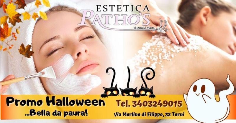 Promozione halloween centro estetico Terni - Occasione trattamenti viso corpo in offerta Terni