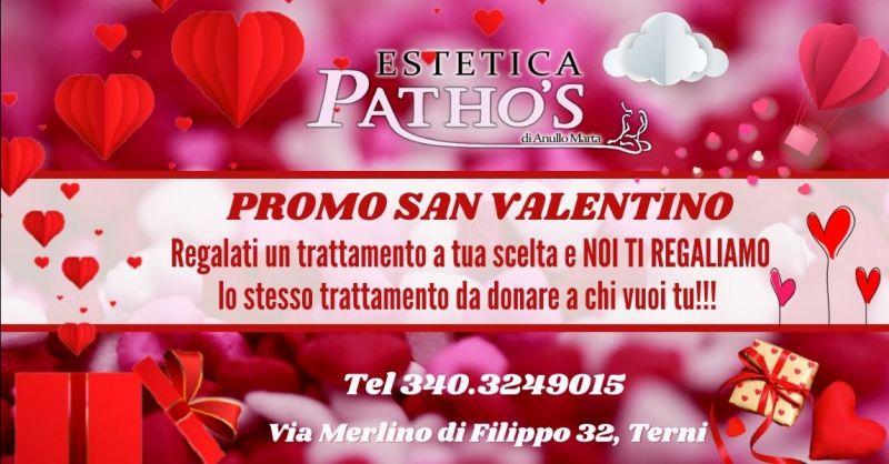 Promozione San Valentino trattamenti estetici Terni - Offerta massaggio di coppia San Valentino Terni
