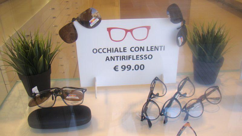 OCCHIALI CON LENTI ANTIRIFLESSO OSIMO