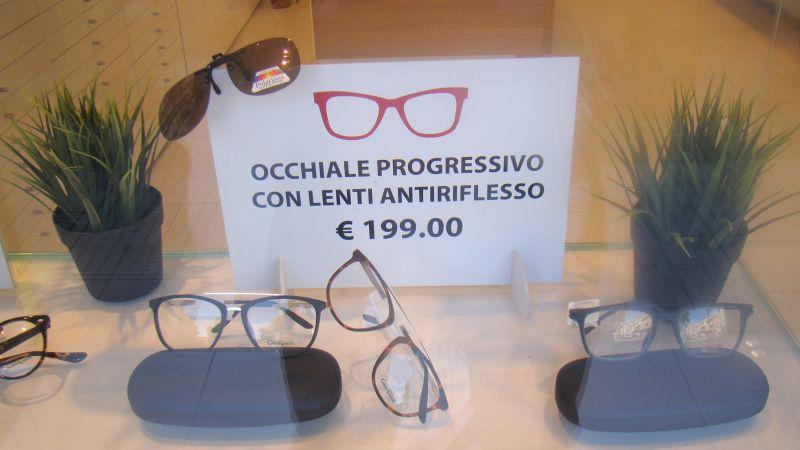 OCCHIALE PROGRESSIVO CON LENTI ANTIRIFLESSO OSIMO