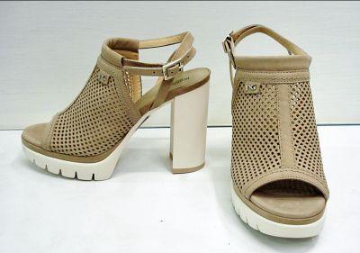 offerta scarpa donna sandalo nero giardini