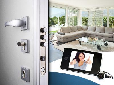 offerta sostituzione serratura promozione spioncino digitale i professionisti della casa