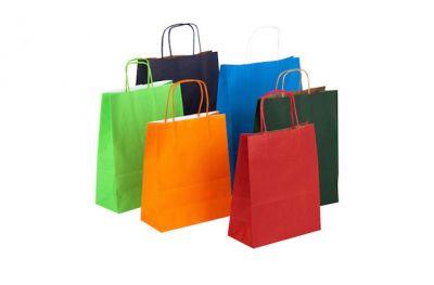 offerta shopper in carta con maniglie
