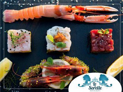 offerta ristorante pesce promozione cucina tipica trapanese marinara le sorelle favignana