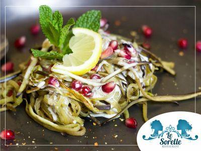 offerta ristorante favignana promozione cucina tipica vegetariana biologica le sorelle