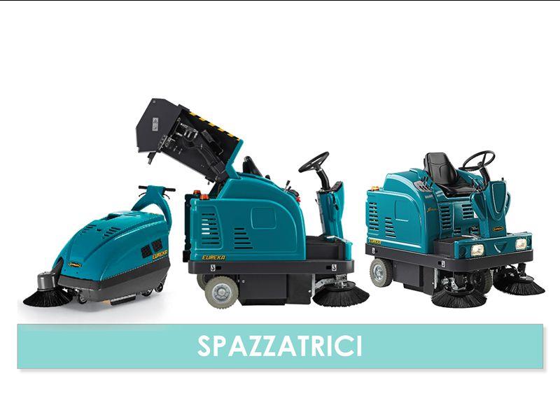 Vendita noleggio macchine per la pulizia industriale - CS Promotion