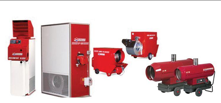 Vendita di generatori di vapore - Noleggio di generatori di aria calda - CS Promotion