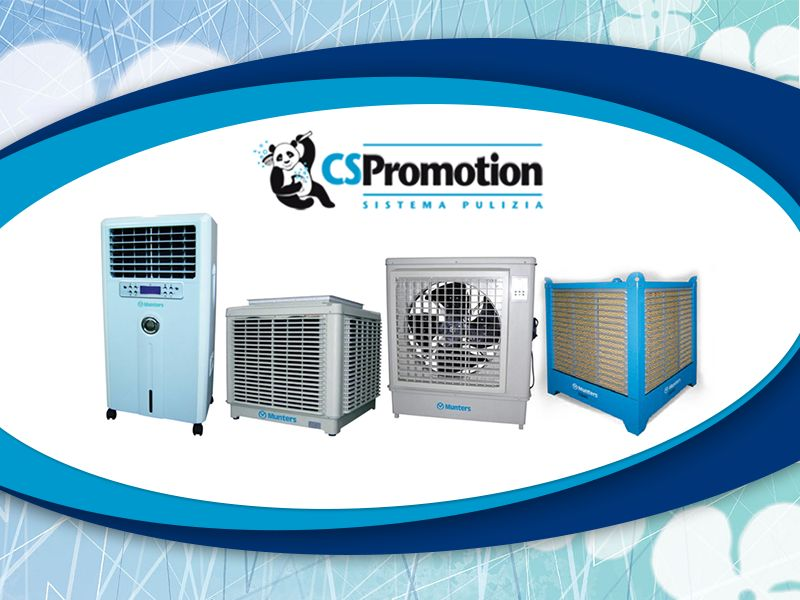 Offerta Raffrescatori d'Aria - Occasione Raffrescatore Evaporativo - C.S. Promotion